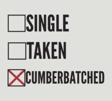 SHERLOCK SINGLE TAKEN CUMBERBATCHED by fandomfashions