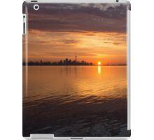 Toronto's Skyline at Sunrise iPad Case/Skin