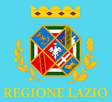 Flag of Lazio Region of Italy  by abbeyz71