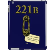 Crime in progress: Please disturb! iPad Case/Skin