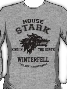 Team Robb Stark (Black) T-Shirt
