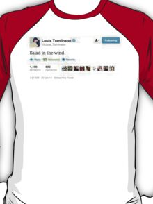 Salad in the Wind (Louis Tomlinson) T-Shirt