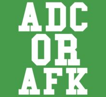 Adc Or Afk Kids Clothes
