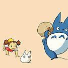 My Neighbor Totoro - Run by Studio Momo ╰༼ ಠ益ಠ ༽