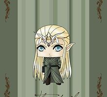 Chibi Thranduil by artwaste