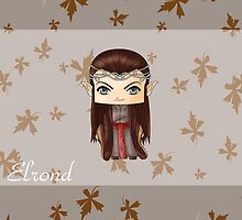 Chibi Elrond by artwaste
