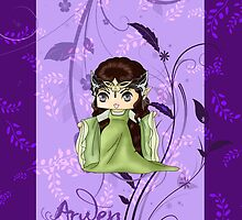 Chibi Arwen by artwaste