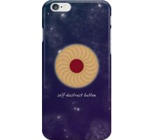 Doctor Who - Self-Destruct Button iPhone Case/Skin