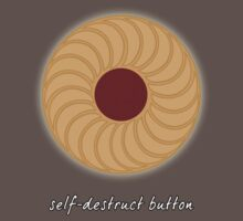 Doctor Who - Self-Destruct Button Kids Clothes