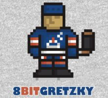 8-Bit Gretzky Shirt by tbeb