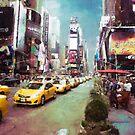 Times Square by John Rivera