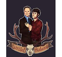 Cannibal Husbands Photographic Print