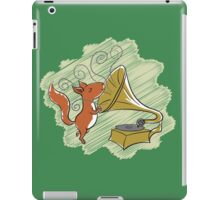 squirrel and music iPad Case/Skin