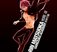 Rin Matsuoka from Free! by cesie