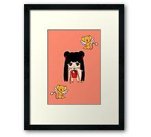 Chibi Meilin Framed Print