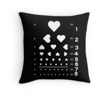 Can you see the love? Throw Pillow