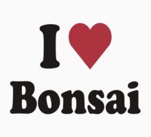 I Heart Love Bonsai by HeartsLove
