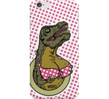 DINOSAURS WITH TITS - iPHONE POLKA DOTS iPhone Case/Skin