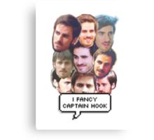 I fancy Captain Hook Canvas Print