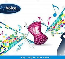 MyVoice Karaoke App for iPhone and iPad devices by creative technosoft systems
