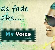 MyVoice Karaoke App for iPhone and ipad timeline by creative technosoft systems