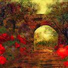 Ye olde railway bridge'... by Valerie Anne Kelly