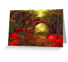 Ye olde railway bridge'... Greeting Card