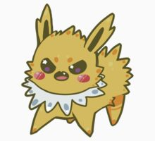 Chib Chibi Jolteon Sticker by bunnyloz
