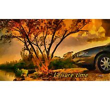 Leisure time Photographic Print