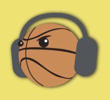 CRAZY headphones BASKETBALL T-Shirt