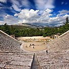 The Ancient Theater of Epidaurus by Hercules Milas