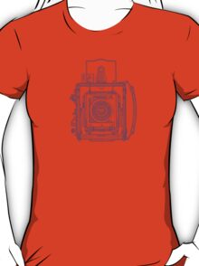 Vintage Photography - Graflex - Blue T-Shirt