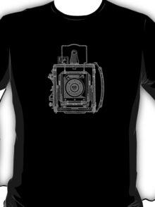 Vintage Photography - Graflex Blueprint T-Shirt