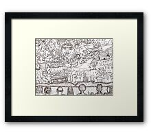 Doodles - The Stage Show Framed Print