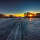 Saskatchewan Sunrise 106214 by Ian McGregor