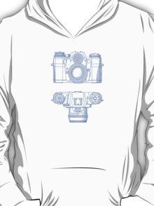 Vintage Photography - Contarex - Blue T-Shirt