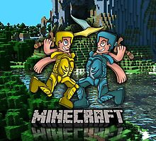 Minecraft Armor Charcters by IsolatedArtz