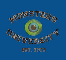 Monsters University by Redsdesign