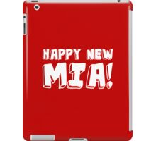 Happy New Mia! iPad Case/Skin