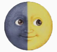 Sun And Moon Emoji by mreedd