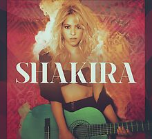 Shakira Apparel, Phone, iPad & Poster Design by Benikari47