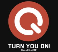 Turn You ON! - Q-Dance '01 New Logo Campaign -White Font- by Kontrabass32