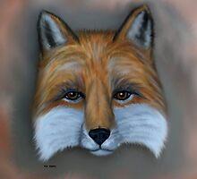 Fox Digital Painting by WildestArt