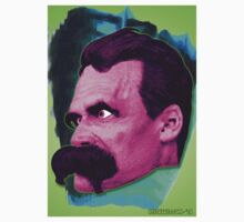 Nietzsche's Beautiful Face by Rev. Shakes Spear