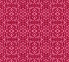 Posh Pink Pattern by Lisann