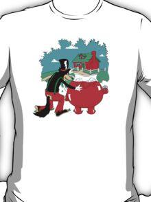 Big Bad Wolf & Kool Aid Man T-Shirt