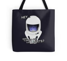 """Doctor Who - """"Hey Who Turned Out The Lights"""" (Vashta Nerada) Tote Bag"""