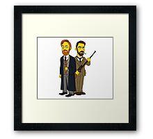 Moriarty & Moran  Framed Print