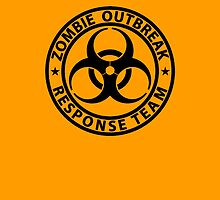 Zombie Outbreak Response Team Phone Case by MacRudd