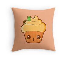 Spooky Cupcake - Pumpkin Throw Pillow
